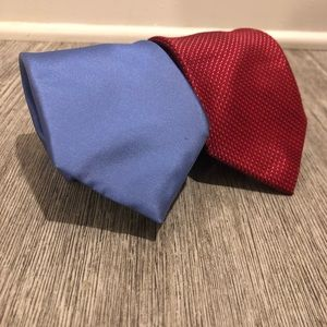Michael Kors Blue And Red Ties Starter Pack